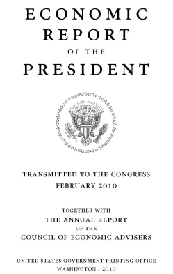 Economic Report of the President 2010